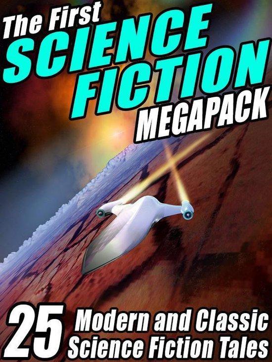 Boek cover The First Science Fiction MEGAPACK® van Robert Silverberg (Onbekend)