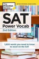 Boek cover SAT Power Vocab, 2nd Edition van The Princeton Review