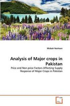 Analysis of Major Crops in Pakistan