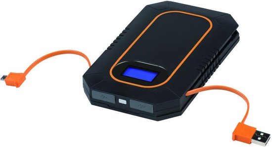 Xtorm Lava Am114 Outdoor Solar Charger en Powerbank - 6.000 mAh
