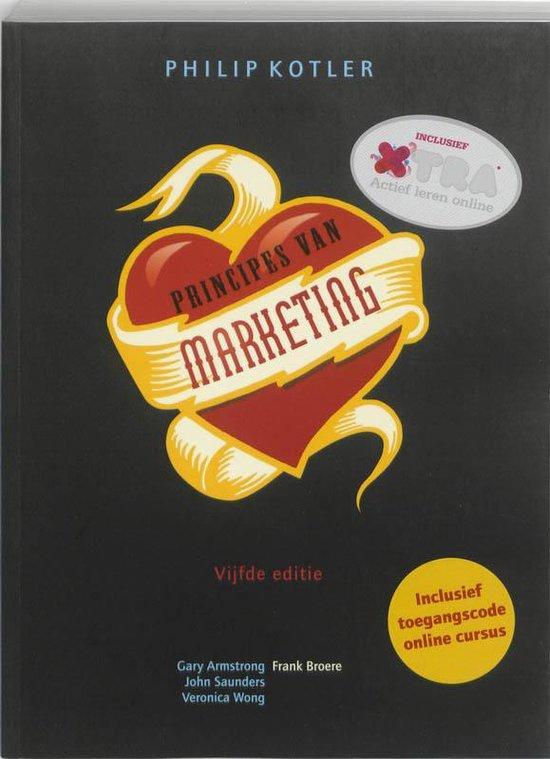 Principes van Marketing + XTRA toegangscode - Philip Kotler  