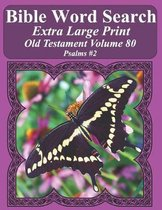 Bible Word Search Extra Large Print Old Testament Volume 80