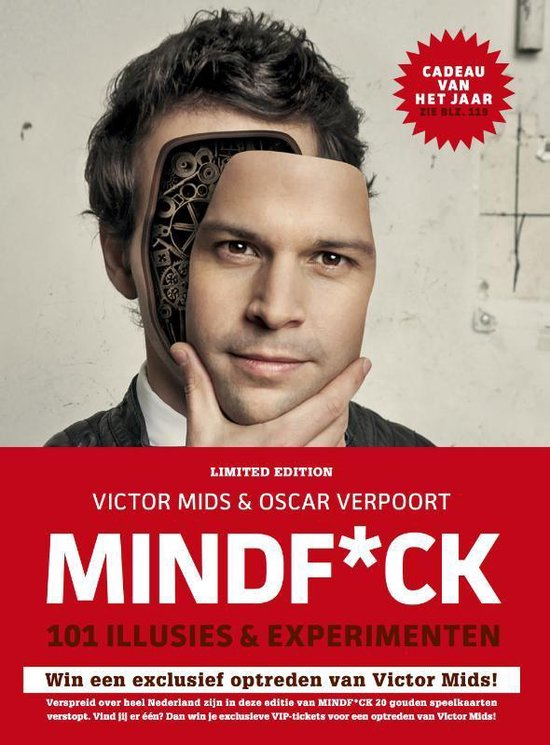 Boek cover Mindf*ck van Victor Mids (Hardcover)