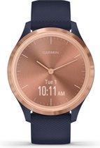 Garmin Vivomove 3S - hybride smartwatch - 39 mm - Goud/blauw