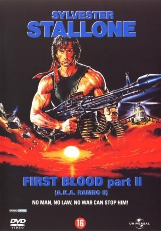 Cover van de film 'Rambo - First Blood 2'
