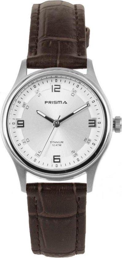Prisma Silver Sapphire Dames horloge P1544