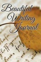 Beautiful Writing Journal