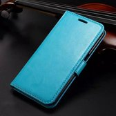 KDS Wallet case hoesje Samsung Galaxy K Zoom Blauw