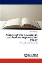 Omslag Aspects of war neuroses in pat barker's regeneration trilogy