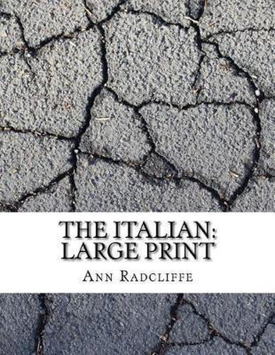 Boek cover The Italian van Ann Ward Radcliffe (Paperback)