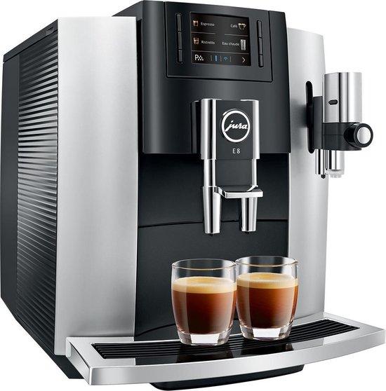 Jura Impressa E8  - Espressomachine - Platina