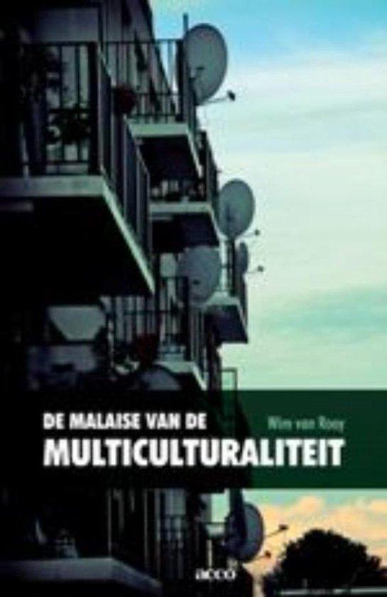 Cover van het boek 'De malaise van de multiculturaliteit' van W. van Rooy