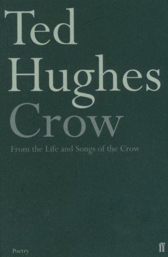 Boek cover Crow van Ted Hughes (Paperback)