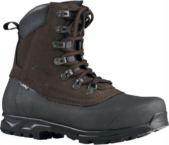Tjakke Mid - Wandelschoen - Brown / Black