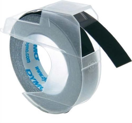 Afbeelding van DYMO 3D label tapes labelprinter-tape zwart