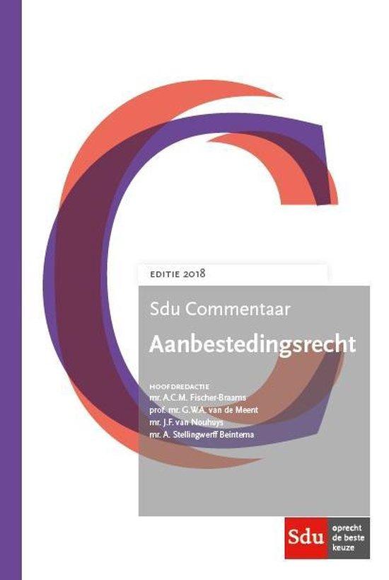 Sducommentaar - Sdu Commentaar Aanbestedingsrecht. Editie 2018. - none pdf epub