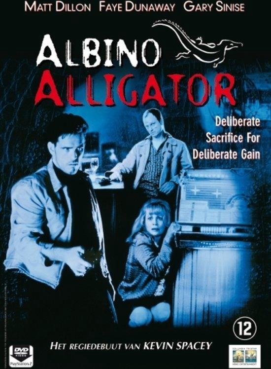 Cover van de film 'Albino Alligator'