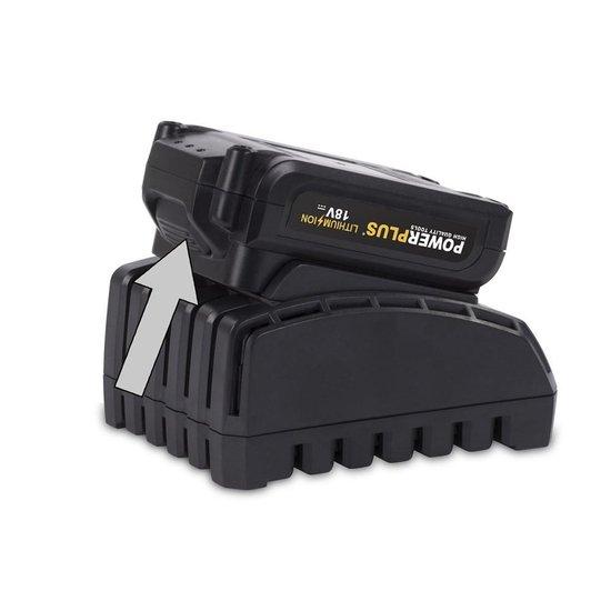 Powerplus POWX0074LI Accu slagmoersleutel 18 Volt Li-ion