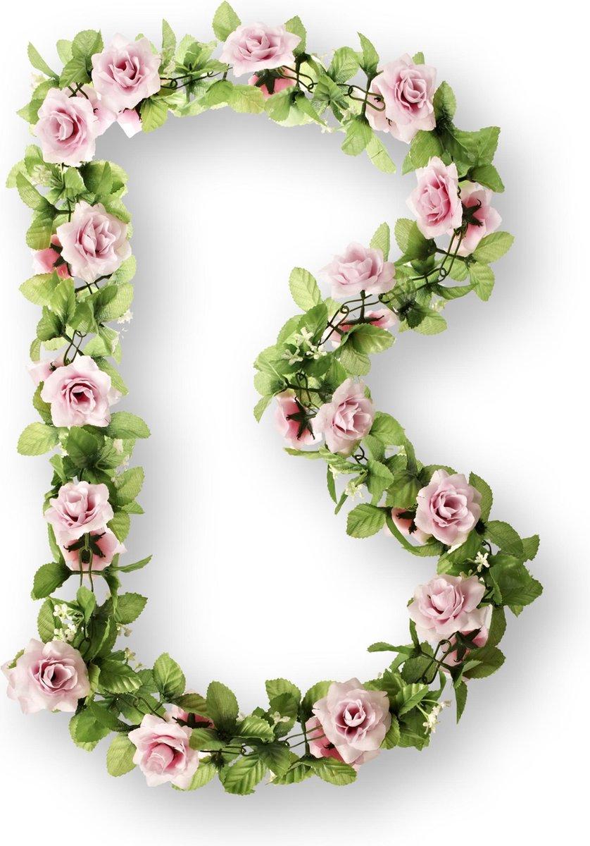 Basil Flower Garland Bloemenslinger - Roze