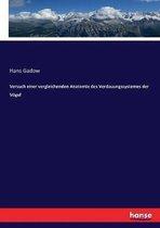 Versuch einer vergleichenden Anatomie des Verdauungssystemes der Voegel