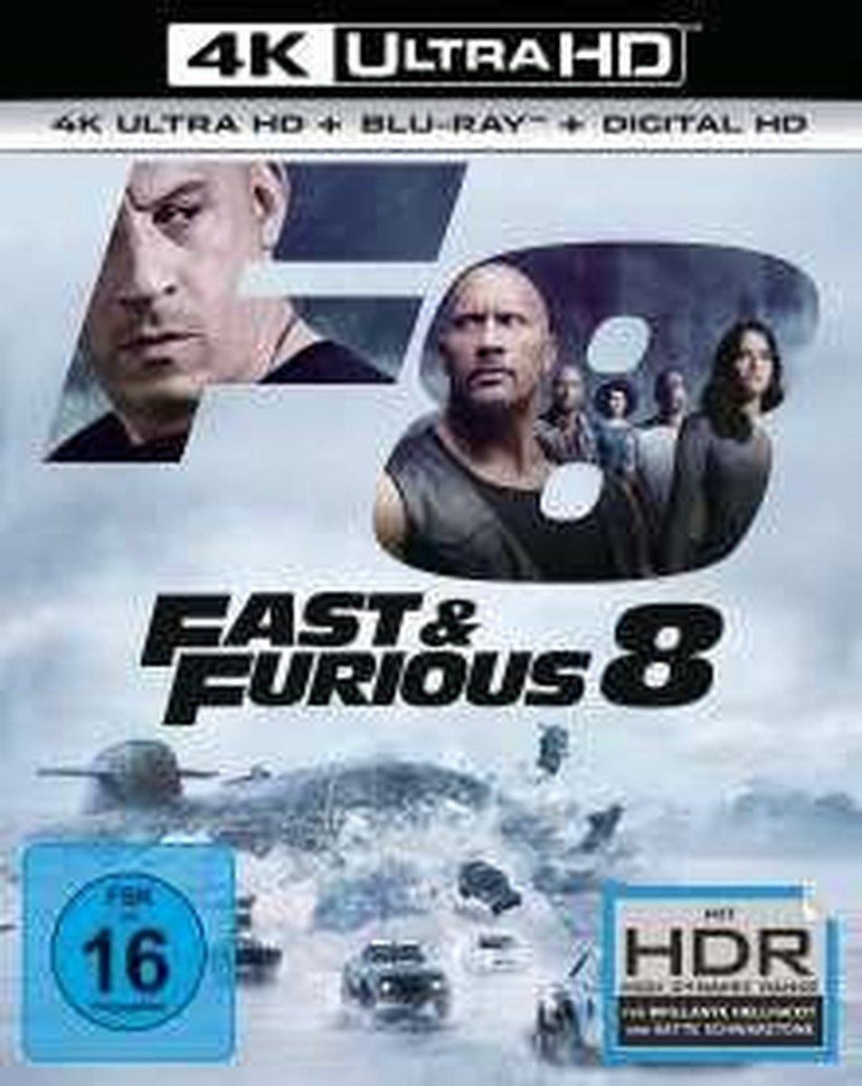 Fast & Furious 8 (Ultra HD Blu-ray & Blu-ray)-