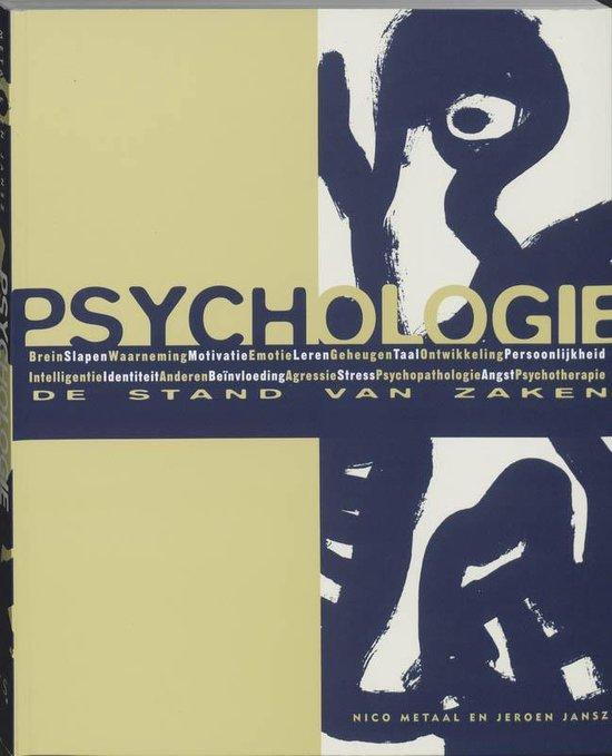 Cover van het boek 'Psychologie: de stand van zaken / druk 9'