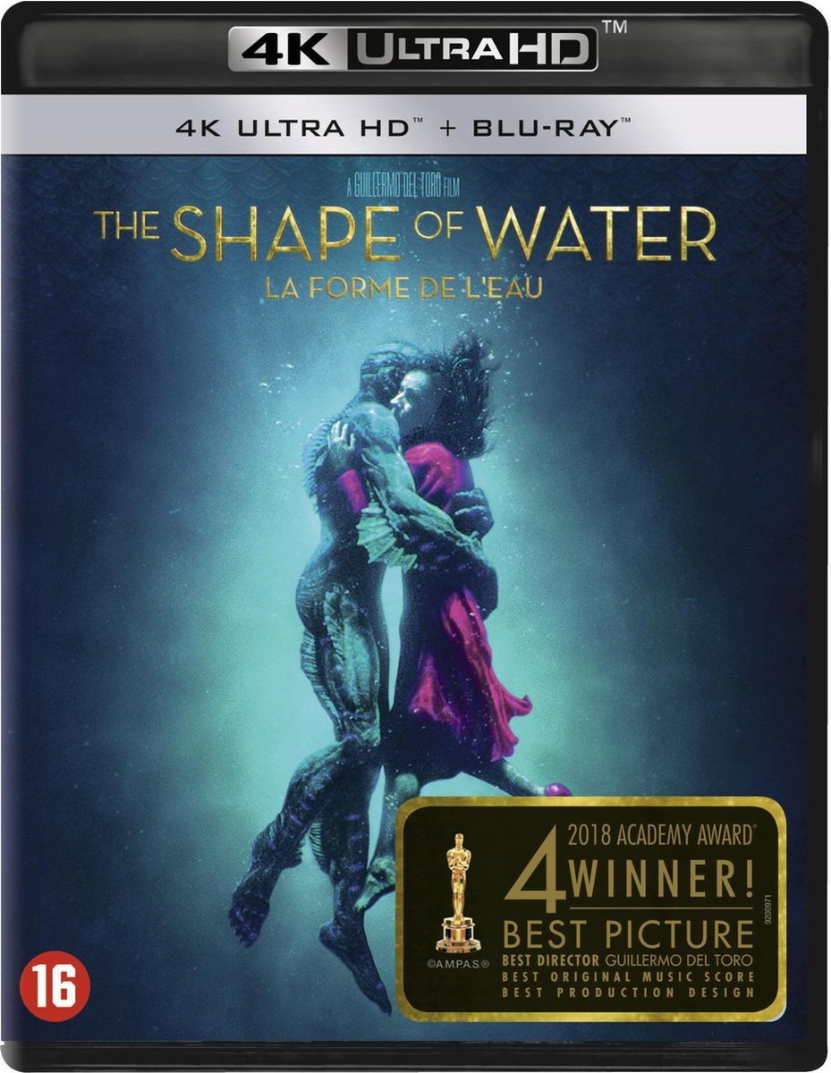 The Shape of Water (4K Ultra HD Blu-ray)-