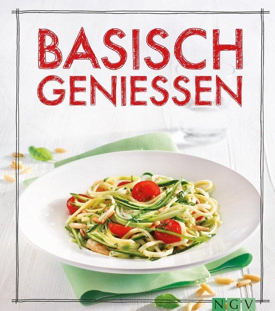 Boek cover Basisch genießen van Marie Gründel (Onbekend)