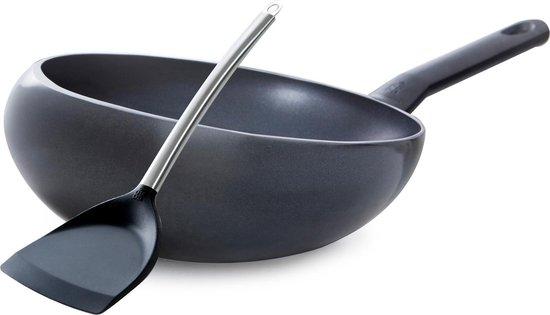 BK Easy Induction Wokarang - Ø 32 cm - incl. gratis Chinese wokspatel