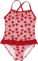 Playshoes UV zwem bikini, aardbeien-Roze