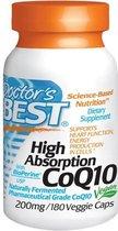 Hoge absorptie CoQ10 200 mg (180 Veggie Caps) - Doctor's Best