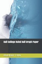 Half College Ruled Half Graph Paper