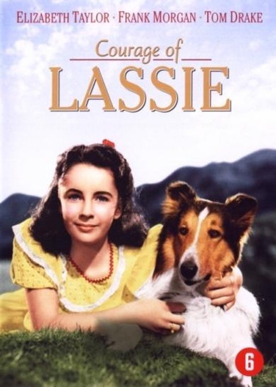 Cover van de film 'Courage Of Lassie'