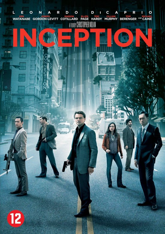 Cover van de film 'Inception'