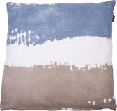 In The Mood Vintage Trio - Sierkussen - 50x50 cm - Faded Blue