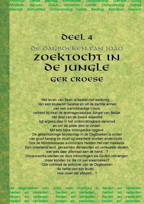 Cover van het boek 'Zoektocht in de jungle / 2 / deel De dagboeken van Joao'