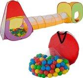 Kindertent speelhuis speeltent ballenbak 200 ballen 401028