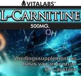 VitaTabs L-Carnitine - 500 mg - 60 capsules - Voedingssupplementen