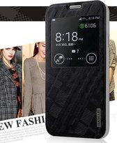 Baseus - Samsung Galaxy S5 - Window View Case Hoesje Brocade Series Zwart