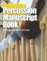 Percussion Manuscript Book