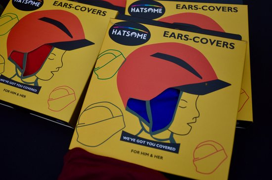 HATSOME Ear-covers (L/XL) Red