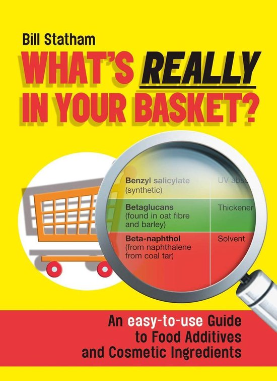 What's Really in Your Basket?: An Easy to Use Guide to Food Additives & Cosmetic Ingredients