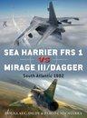 Boek cover Sea Harrier FRS 1 vs Mirage III/Dagger van Onbekend
