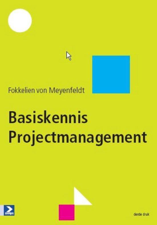 Basiskennis Projectmanagement - Fokkelien von Meyenfeldt |