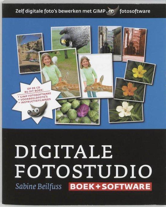 Cover van het boek 'Digitale fotostudio + CD-ROM'