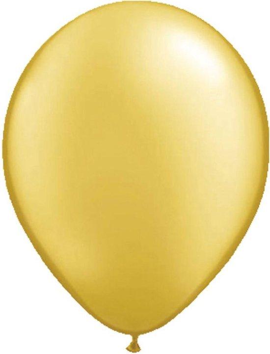 Folatex 5in/13cm Metallic Goud ballonnen - zakje met 20 stuks