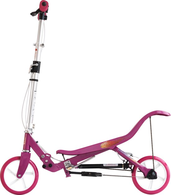 Space Scooter Roze/Wit - Step