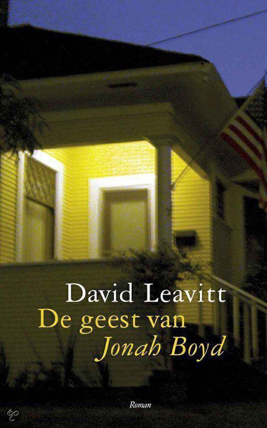 De geest van Jonah Boyd - David Leavitt |