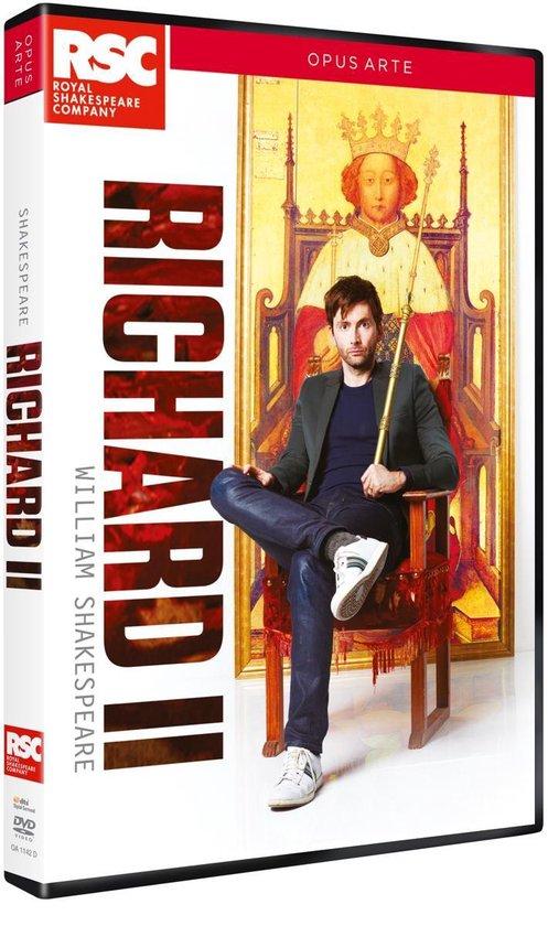 CD cover van Royal Shakespeare Company - Shakespeare - Richard Ii van Shakespeare, William