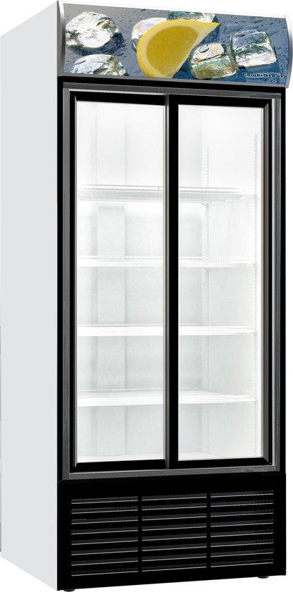 Koelkast: Horeca Koelkast 2 Schuifdeuren Glas   700 Liter, van het merk Buffetnet